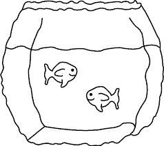 Small Picture Fish Printable Coloring Pages Printable Fish Bowl Coloring Pages