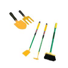 apollo childrens gardening tool set with 5 pieces
