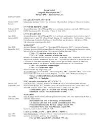 Pretty Special Ed Teacher Resume Examples Contemporary Entry Level