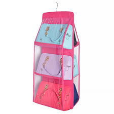 Hanging Wardrobe Perspective Collating Household Storage Bag ...