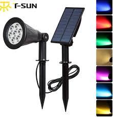 Alpan Solar Spot Lights Online Wholesale Led Solar Color Changing Outdoor