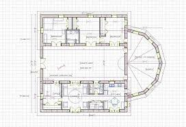 one story house plans with center courtyard new floor plan center spanish villa with apartments interior