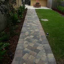 orlando brick pavers. Fine Brick Photo Of Orlando Brick Pavers  Orlando FL United States  Walkway In A