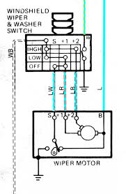 fj40 wiper motor wiring diagram fj40 wiring diagrams 84 wiper motor