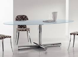 oval glass dining table. bonaldo surfer oval dining table - now discontinued glass s