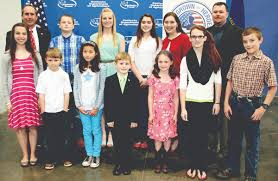 state agriculture department honors poster and essay contest essay winners honored at the kentucky agriculture day luncheon were from left front row