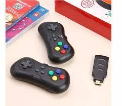 Máy chơ game cầm tay 2 người -Tay cầm không dây kết nối TV - Đồ họa