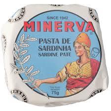 Minerva Sardines Pate 75g