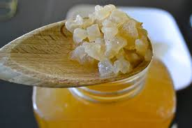 kefir. water kefir grains