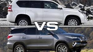 2016 Toyota Land Cruiser Prado vs 2016 Toyota Fortuner OFFROAD ...