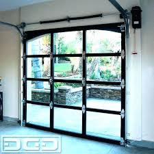 all glass garage door glass garage door s doors full view metal for a aluminium overhead all glass garage door