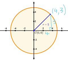 let s draw in a right triangle
