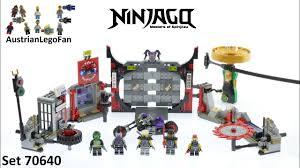 Lego Ninjago 70640 S.O.G. Headquarters Speed Build - YouTube
