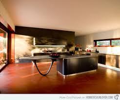 modern curved kitchen island. Unique Island Peninsula Countertop On Modern Curved Kitchen Island