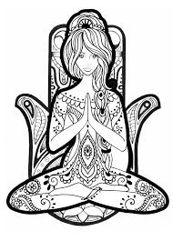 You can freely download or print these coloring pages for educational use. Yoga Coloring Pages Coloring Rocks