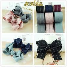 get quotations 25mm south korea imported ribbon diy hair accessories handmade ribbon bow diy handmade hair clips