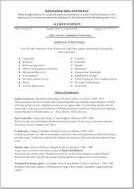 Car Salesman Resumes Sales Resume Sample Professional Electronic