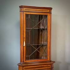 mahogany display cabinet for in uk