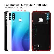 For <b>Huawei</b> Nova 4e / P30 Lite <b>Original Back Battery</b> Cover + ...
