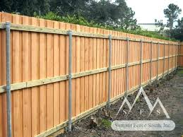 how to install fence posts without concrete setting metal steel vs wood in concr