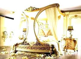Canopy Bed Drapes Sheer Curtains For Design Queen White Bath ...