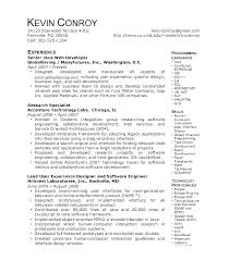 Sample Resume For Java Developer Java 1 Year Experience Resume ...