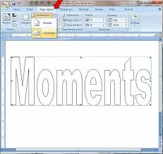 It's common knowledge that content is the most important part of writing and sending letters. How To Create Printable Block Letters In Microsoft Word