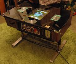 taito space invaders 1977 release model japanese cocktail table