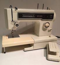 kenmore sewing machine. vintage kenmore 158.12512 10 stitch heavy duty free arm zigzag sewing machine d