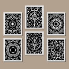 http cdn s3 2 wanelo product image 11857596 x354 j ab doodles flowers zentangle designs pinterest mandala and doodles on bathroom wall art black and white with http cdn s3 2 wanelo product image 11857596 x354 j ab
