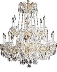 large maria theresa style crystal chandelier