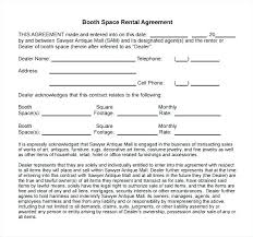 Funny Lease To Own Business Agreement Word Doc Studio Rental