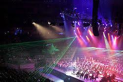 lighting designing. lighting at the 2005 classical spectacular concert designing l