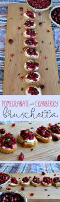 Pomegranate and Cranberry Bruschetta. Recipes For ChristmasHealthy Christmas  Party ...