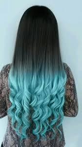 Blue Dip Dye On Light Brown Hair Grey To Turquoise Hair Cool Hair Color Gorgeous Hair