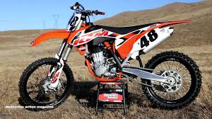 first ride 2015 ktm 450sxf motocross action magazine youtube