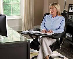 chair keyboard tray. mobo computer station \u2013 ergonomic chair mount keyboard tray e