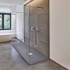Deluxe10 Walk Through 1000mm Wet Room Shower Screen 10mm Easy Clean Glass  Walk-In Panel