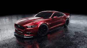 Red Ford Mustang Wallpaper 4k Ultra HD ...