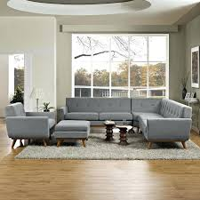 5 piece sectional couch engage 5 piece sectional sofa in gray lifestyle nevio 5 pc leather l shaped sectional sofa