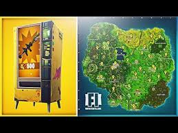 Vending Machine Near Me Enchanting How To EASILY Find Vending Machines In Fortnite Vending Machine