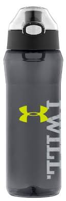 under armour 64 oz foam insulated bottle. ergonomic design with no-slip grip means sweaty palms won\u0027t get in the way of hydration. 64 ounce capacity. interchangeable lid system options include under armour oz foam insulated bottle