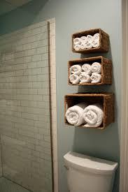 Bathroom Charming  Tier Wicker Basket Bath Towel Design Ideas - Bathroom towel design