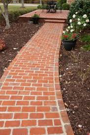 Brick Walkway Patterns Extraordinary Love This Brick Walkway Pattern South Of The BordersPaths