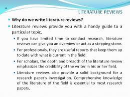 penulisan karya ilmiah scientific academic writing ppt  literature reviews why do we write literature reviews