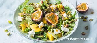Recepten van salades