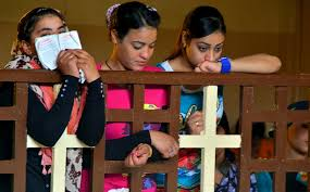 Image result for pictures of people doing their christian faith