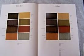 Interior Color Chart Details About Mercedes Owners Interior Color Chart W107 W123 Sales Brochure 380sl 300cd W126