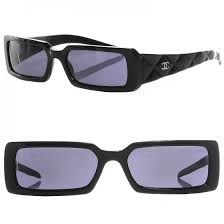CHANEL Quilted Sunglasses 5046 Black 98353 &  Adamdwight.com