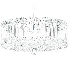 drum chandelier with crystals pendant crystal large cry